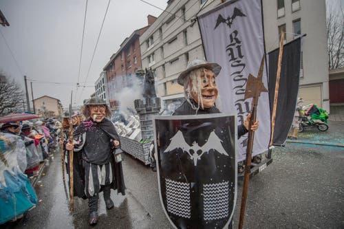 Rüsssugger. (Bild: Pius Amrein / LZ (Emmen, 11. Februar 2018))