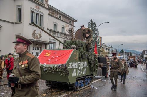Road to Russia: Die Genossen (Bild: Nadia Schärli)