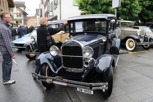 Sarnens Strassen werden für ein Wochenende zum Museum. (Bild: Geri Wyss / Neue OZ)