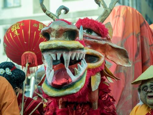 Chinesischer Drache. (Bild: Theres Nussbaumer)