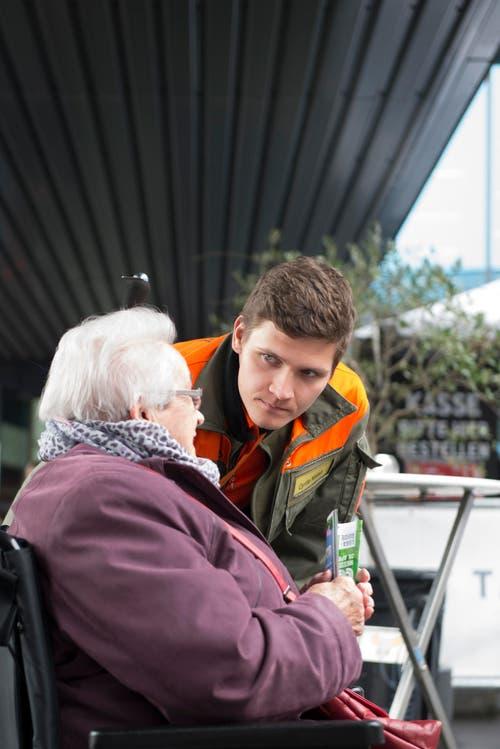Die ZSO Emme führt den Luga-Besuch bereits das vierte Jahr in Folge durch, jeweils in enger Zusammenarbeit mit den Altersheimen. (Bild: PD)