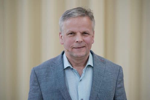 Rudolf Schweizer (Parteilose Schweizer, neu): «Wichtig für die Stadt ist der soziale Zusammenhalt. Die Gesellschaft driftet stark auseinander.» (Bild: Pius Amrein / Neue LZ)