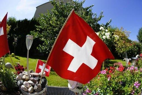 Platz 12 – 551 Gefällt mir: Happy Birthday Schweiz (1. August). (Bild: Leserin Regula Sapin)