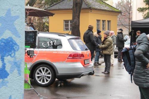 Das Bleicherpärkli wurde zum Tatort. (Bild: Claude Hagen (Neue LZ))