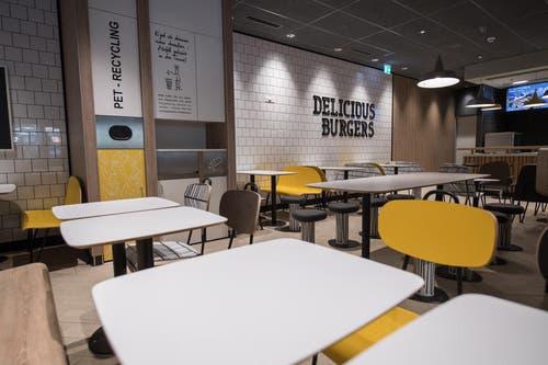 Hier gibts vorallem Burger (Bild: Boris Bürgisser (Ebikon, 18. Oktober 2017))