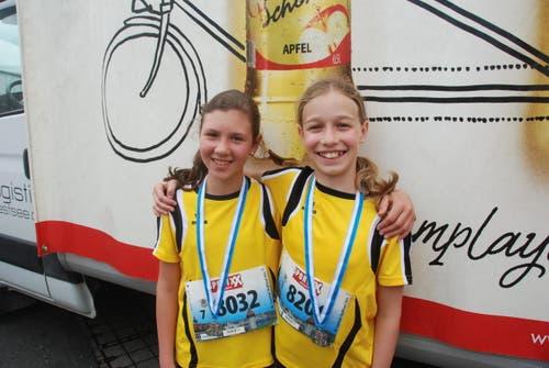 Alessia Sandionigi aus Beckenried (links) und Sayuri Kleiner aus Luzern. (Bild: Swiss-Image)