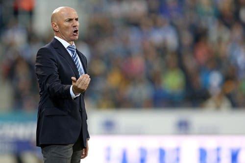 Luzerns Trainer Carlos Bernegger. (Bild: Phillipp Schmidli / Neue LZ)