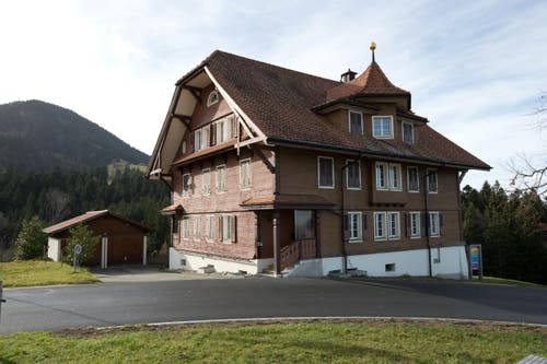 Das Hospiz Heiligkreuz. (Bild: Manuela Jans-Koch/Neue LZ)