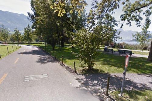 Seefeld in Sarnen. (Bild: Google Street View)