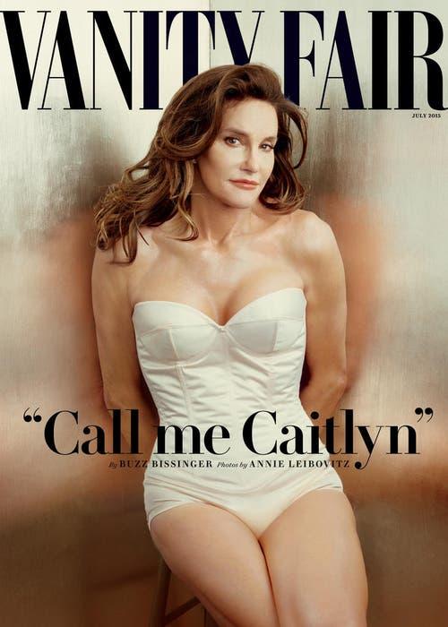 Es ist eine Premiere und was für eine: Bruce Jenner startet in ein neues Leben als Frau, auf dem Titelbild von «Vanity Fair», abgelichtet von Starfotografin Annie Leibovitz. (Bild: AP / Annie Leibovitz)