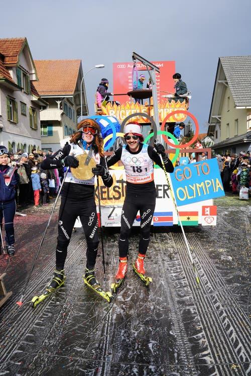 Olympia: Miär machid mit - Bickelstuumpfer (Bild: Romano Cuonz (Giswil, 11. Februar 2018))