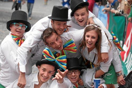 Luzerner Stadtlauf: Happy Runners (Bild: Swiss-Image)