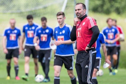Trainer Markus Babbel (Bild: Keystone / Alexandra Wey)