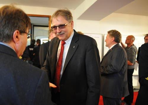Regierungsrat Franz Enderli holt das zweitbeste Resultat. (Bild: Corinne Glanzmann / Neue OZ)