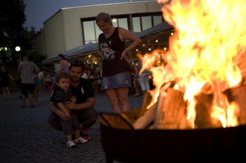 Lampionumzug an der 1. August-Feier in Hünenberg. (Bild: Maria Schmid / Neue ZZ)
