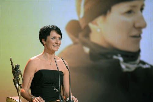 Langlauf-Trainerin Guri Hetland ist Trainerin des Jahres. (Bild: Keystone)