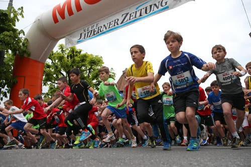 39. Stadtlauf 2016 in Luzern. (Bild: Philipp Schmidli)