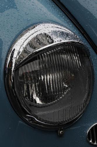 Ein sehr typisches Detail des VW Käfers. (Bild: Geri Wyss / Neue OZ)