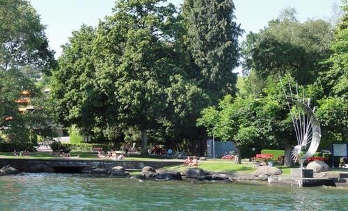 Die heutige Situation des Fridolin-Hofer-Parks. (Bild: PD)