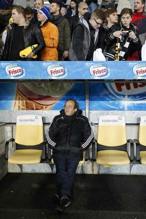 UEFA-Präsident Michel Platini. (Bild: Keystone)