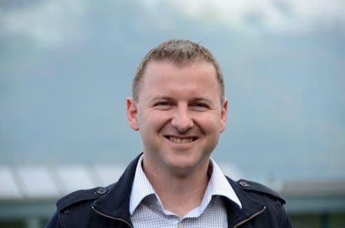 Beckenried Gemeinderat: Pascal Zumbühl (Vizepräsident), FDP, 39, bisher. (Bild: Martin Uebelhart (Neue Nidwaldner Zeitung))