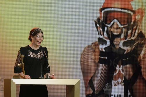 Dominique Gisin setzte sich an der Wahl in Zürich vor Selina Gasparin und Mujinga Kambundji durch. (Bild: Keystone)
