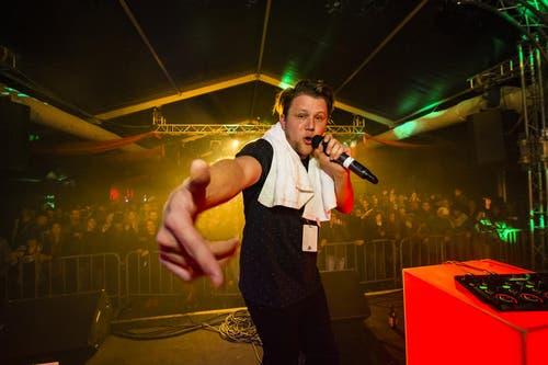 Rapper Knackeboul. (Bild: Daniel Heller)