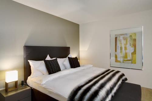 Schlafzimmer (Bild: Bürgenstock Resort)