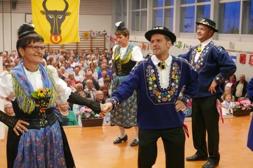 1. August: Bundesfeier in Seelisberg. Die Tachtengruppe trat in der Turnhalle auf. (Bild: Christoph Näpflin / Neue UZ)