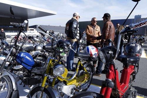 Auf dem Arenaplatz kommen Töfflibuebe auf ihre Kosten. (Bild: Werner Schelbert / Neue ZZ)