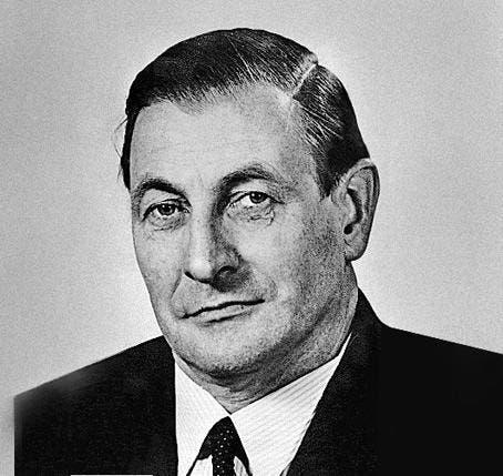 Ludwig von Moos (CVP), Kanton Obwalden, Im Bundesrat von 1959 - 1971. (Bild: Archiv Neue LZ)