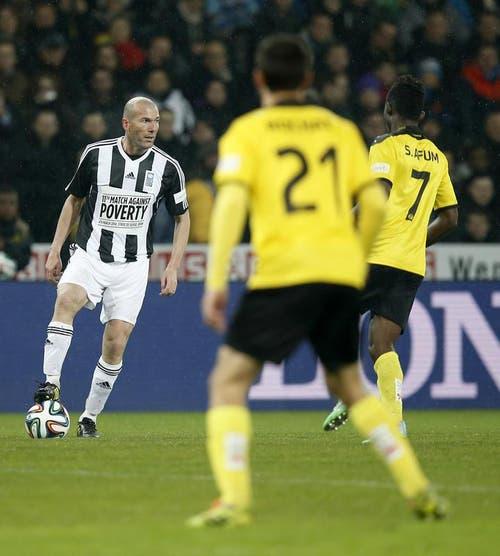 Zinédine Zidane in action. (Bild: Keystone)