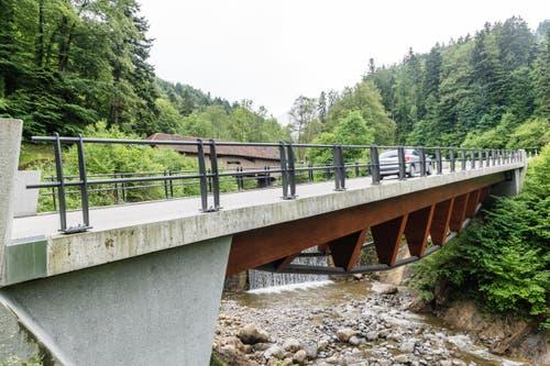 Und die beiden Brücken nochmals, aber von der anderen Seite. (Bild: Roger Grütter / Neue LZ)