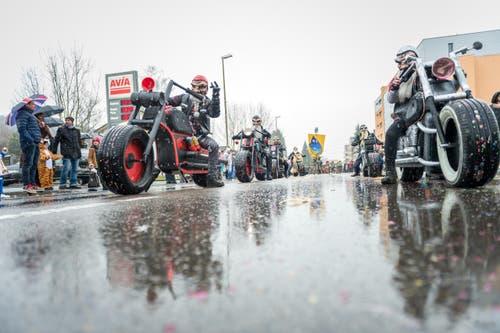 Die Criminalz mit dem Motto «Like a Bike» (Bild: Roger Grütter (Littau, 11. Februar 2018))