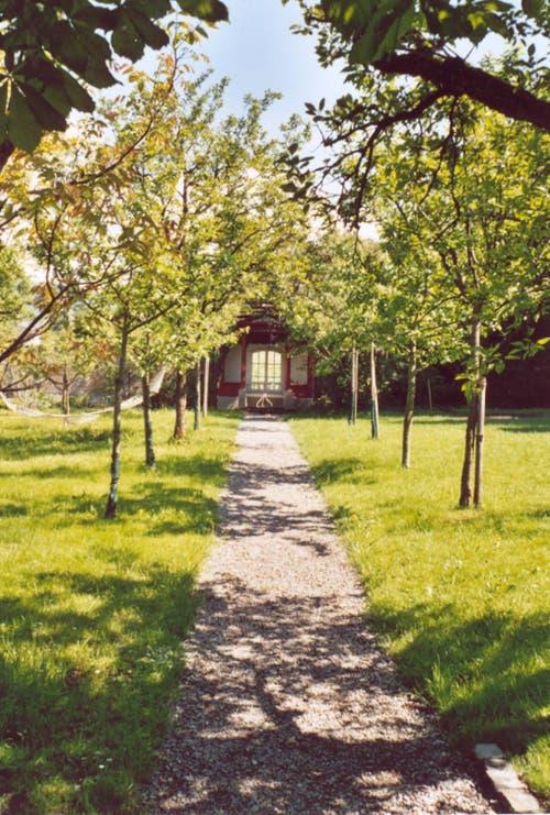Kanton Nidwalden: Der Garten des Deschwanden-Hauses in Stans (Bild: Fachstelle Denkmalpflege Nidwalden)
