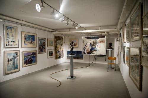 Dies, weil Spreng laut einer Anekdote mit dem damaligen Direktor des Basler Kunstmuseums in Streit geriet, weil sie sich nicht über die Bedingungen der Schenkung einigen konnten. (Bild: Pius Amrein / Neue LZ)