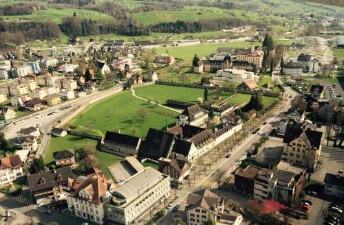 Kanton Obwalden: Klostergarten von St. Andreas in Sarnen (Bild: Frauenkloster St. Andreas, Sarnen)