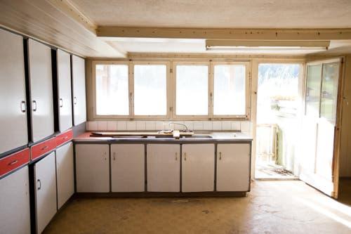 Die alte Küche des Pächterhauses. (Bild: Manuela Jans-Koch/Neue LZ)
