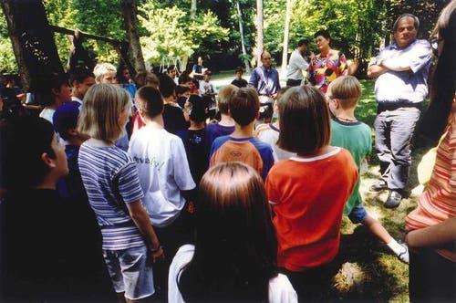 Drachenlabyrinth - ein Spielplatzprojekt, KIPA 1998 (Bild: zvg)