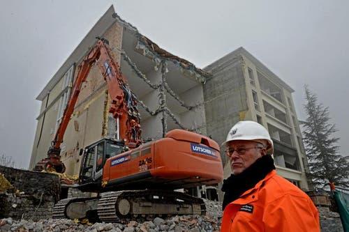 Die Luzerner Rüssli-Architekten planen den Neubau. (Bild: Nadia Schärli / Neue LZ)