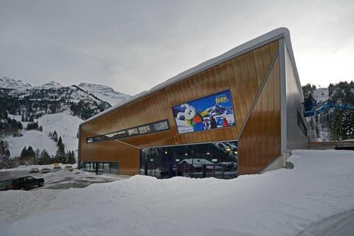 Die neue Talstation auf der Stöckalp. (Bild: Corinne Glanzmann / Neue OZ)