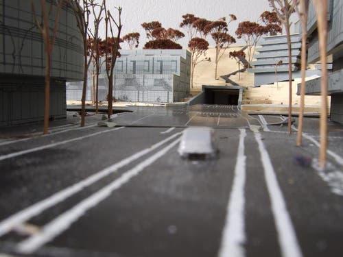 So könnte der Anschluss Gotthardstrasse dereinst aussehen. (Bild: PD)
