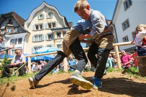Jodlerklub Bärgsee Lungern am Zentralschweizer Jodlerfest. (Bild: Philipp Schmidli)