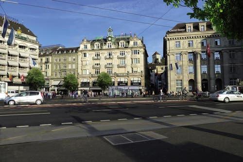 Die Haltestelle von Metro Luzern beim Schwanenplatz. (Bild: Visualisierung PD)