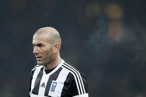 Zinédine Zidane. (Bild: Keystone)