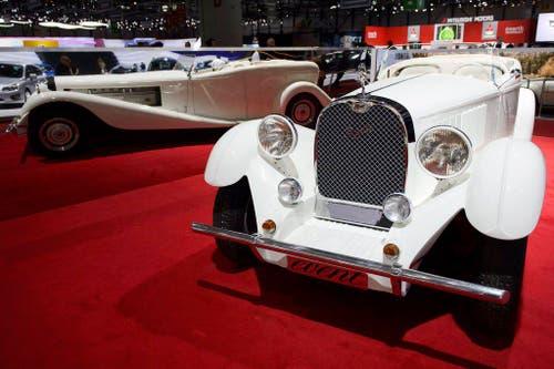 Blingbling gefällig? Der neue Concept Car Sbarro Event. (Bild: Keystone)