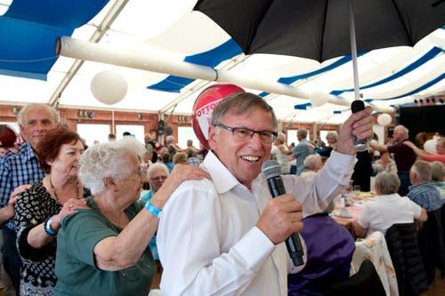 Franz Stadelmanns Seniorennachmittage sind legendär. (Bild: Eveline Beerkircher / Beerkicher)