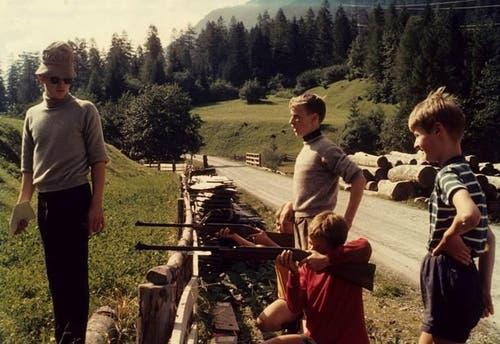 Ein weiteres Foto aus dem Sommerlager in Lauelen.