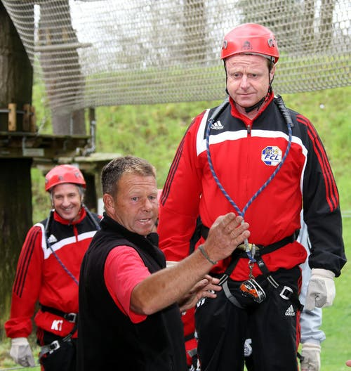 April 2009: Trainingslager im Tessin... (Bild: pd)
