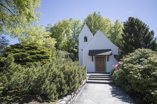 17.5.17: Kleine Kapelle im Bürgenstock-Resort. (Bild: Urs Flüeler / Keystone)